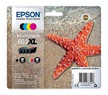 Cartouche d'encre Epson  603XL (CMJ N) Etoile de Mer