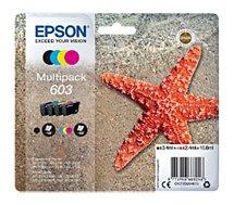 Cartouche d'encre Epson  603 Etoile de Mer (CMJ N)