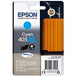 Cartouche d'encre Epson  405 XL Valise Cyan