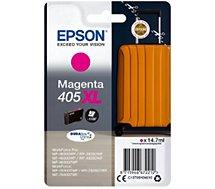 Cartouche d'encre Epson  405 XL Valise Magenta