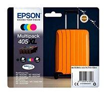 Cartouche d'encre Epson  Pack XL 405 Valise 4 couleurs