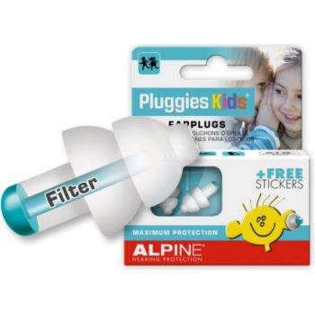 Alpine Protection Auditive pour Enfant Pluggies