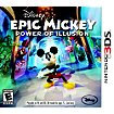 Jeu 3DS Just For Games Epic Mickey : Power of Illusion