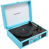 Platine vinyle Ricatech RTT21 Advanced Black turquoise