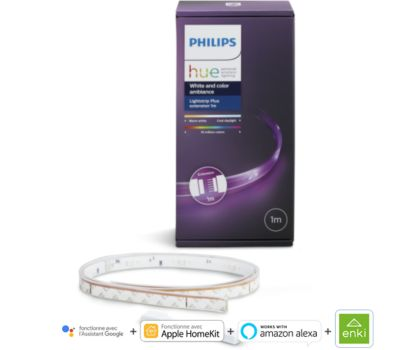 Bandeau LED Philips Hue LightStrip Plus 1m extension