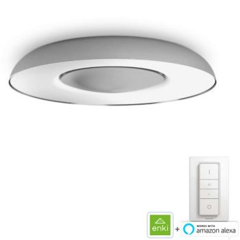Philips Still ceiling lamp aluminium
