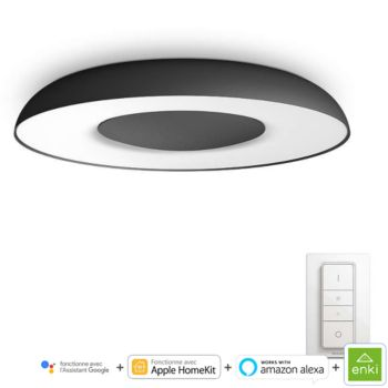 Philips Still ceiling lamp black