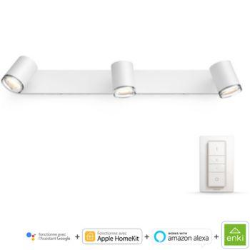 Philips Hue   ADORE Spot barre tube 3x5.5W sall