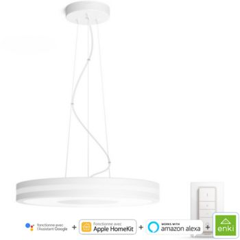 Philips Hue    BEING Suspension 1x39W - Blanc (