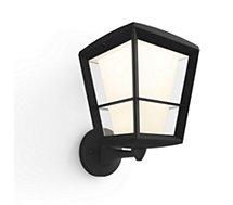 Lampe connectée Philips HUE ECONIC Applique montante - Noir