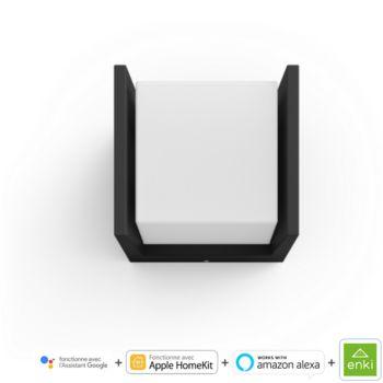 Philips HUE FUZO Applique carré - Noir