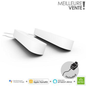 Philips Hue Play Pack x2  Blanc