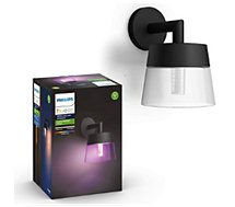 Luminaire Philips  HW&CA ATTRACT Applique 8W Noir