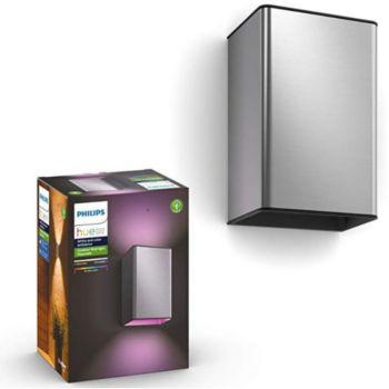 Philips HW&CA RESONATE Applique carré 2x8W Inox