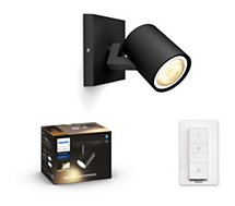 Ampoule connectée Philips  Hue Runner single Spot Black