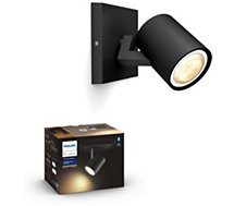 Ampoule connectée Philips  Hue Runner Ext. Kit single spot Black