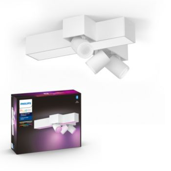 Philips Centris Hue 3L cross Ceiling White