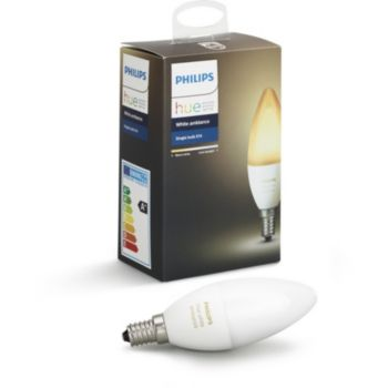 Philips Hue White & Ambiance Flamme E14