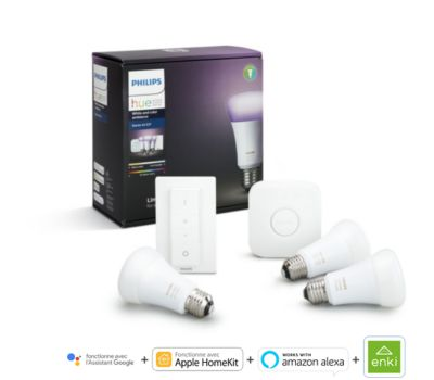 Pack Philips démarrage E27 Hue white & colors