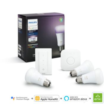Philips démarrage E27 Hue white & colors