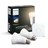 Ampoule connectée Philips Démarrage 9,5W A60 E27 Hue white