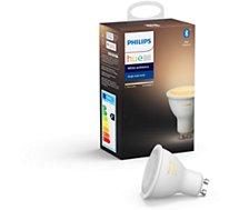 Ampoule connectée Philips  5,5W GU10 EU Hue White & Ambiance