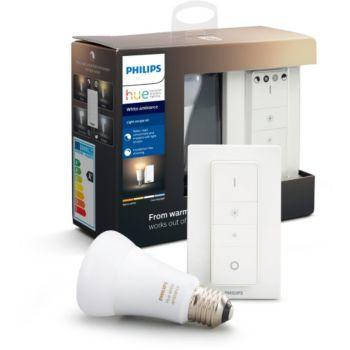 Philips E27 white ambiance + télécommande