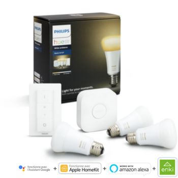 Philips démarrage E27 Hue white & ambiance
