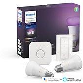 Ampoule connectée Philips HW&CA Kit de démarrage  E27 x2 et téléc