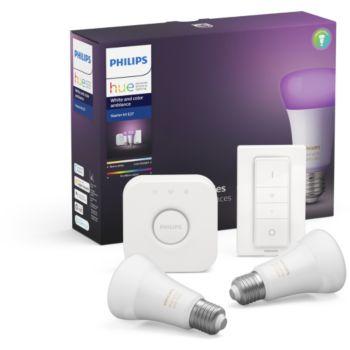 Philips HW&CA Kit de démarrage  E27 x2 et téléc