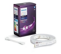 Lampe connectée Philips  Hue LightStrip+ 1m extension