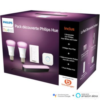 Philips Démarrage E27 W&C + 1 Hue Play
