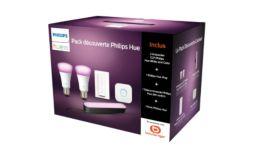 Ampoule connectée Philips Démarrage E27 W&C + 1 Hue Play