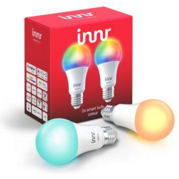 Innr E27 x2 LED Connectée Couleurs 2000-6500