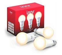 Ampoule connectée Innr  E27 x3 LED Connectée Blanc chaud 2700K