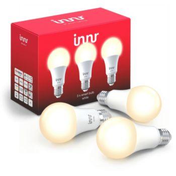 Innr E27 x3 LED Connectée Blanc chaud 2700K