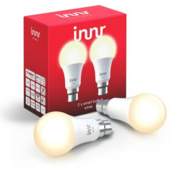 Innr B22 x2 LED Connectée Blanc chaud 2700K