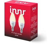 Ampoule connectée Innr  E14 x2 LED Connectée Blanc chaud 2700K