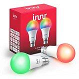 Ampoule connectée Innr  B22 x2 LED Connectée Couleurs 1800-6500