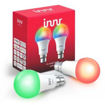 Innr B22 x2 LED Connectée Couleurs 1800-6500