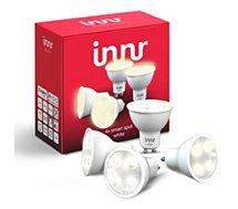 Ampoule connectée Innr  G10 x4 LED Connectée Blanc chaud 2700K