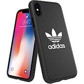 Coque Adidas Originals iPhone X/Xs BASIC FW18 noir/blanc