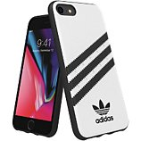 Coque Adidas Originals  iPhone 6s/7/8 PU FW18 blanc/noir