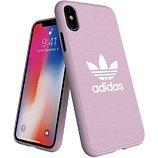 Coque Adidas Originals  iPhone X/Xs CANVAS FW18 rose