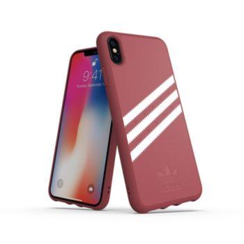 Adidas Originals iPhone Xs Max SUEDE FW18 bordeaux/blanc