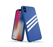 Coque Adidas Originals  iPhone Xs Max SUEDE FW18 bleu/blanc
