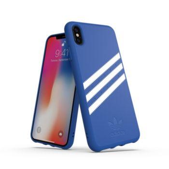 Adidas Originals iPhone Xs Max SUEDE FW18 bleu/blanc