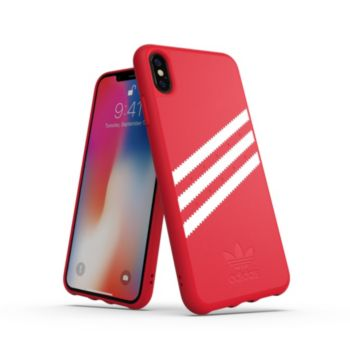 Adidas Originals iPhone Xs Max SUEDE FW18 rouge/blanc