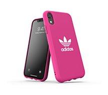 Coque Adidas Originals  iPhone Xr Adicolor SS19 rose fuchsia