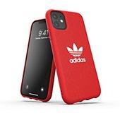 Coque Adidas Originals iPhone 11 Adicolor rouge